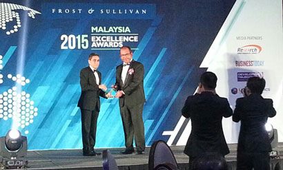 HEITECH PADU BERHAD WINS THE 2015 FROST & SULLIVAN MALAYSIA EXCELLENCE AWARDS As MANAGED SERVICE PROVIDER OF THE YEAR (Information & Technology Category)
