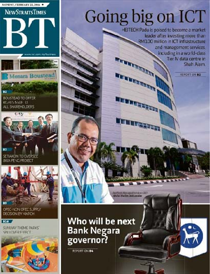 BT – NEW STRAITS TIME