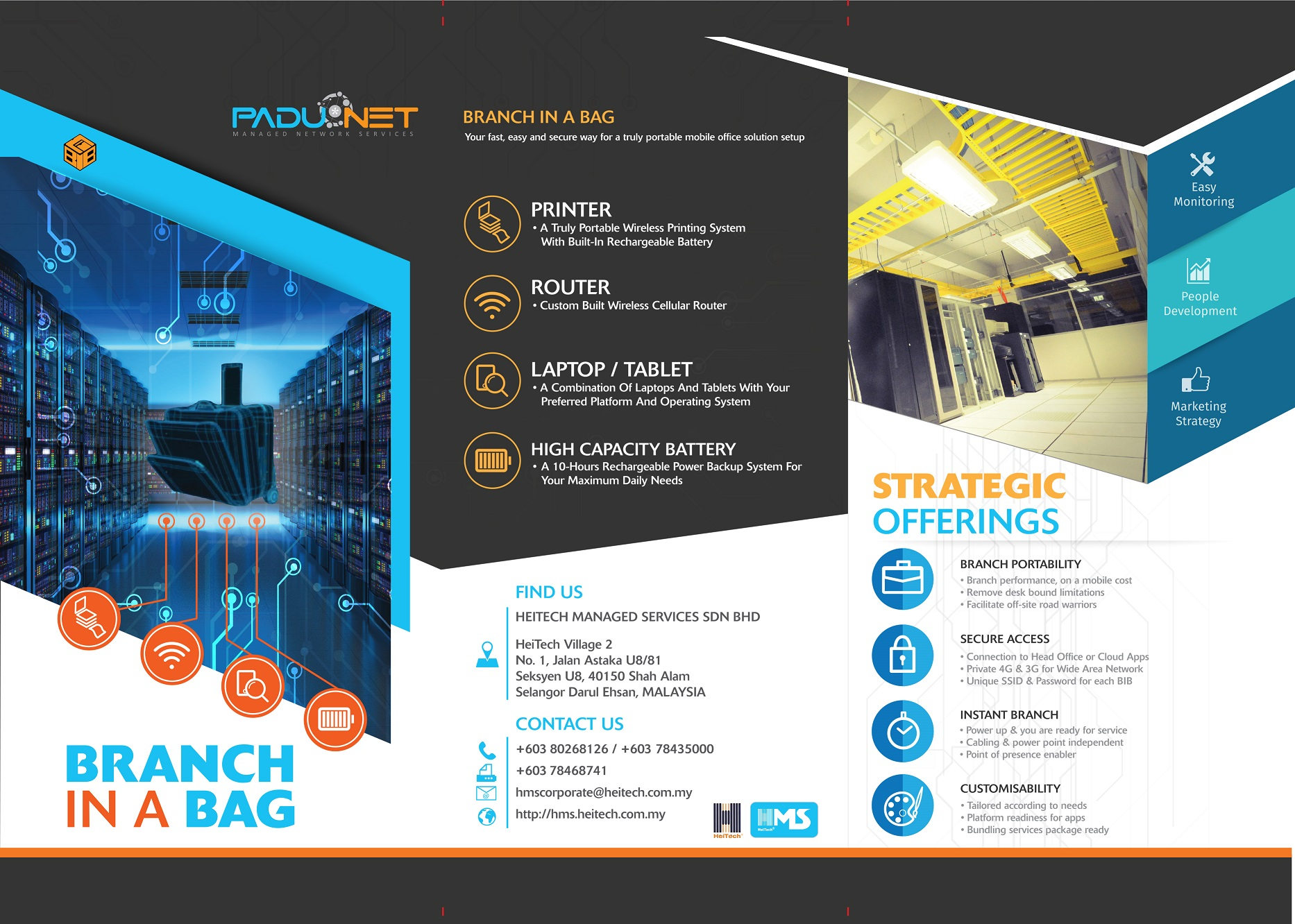 Padu*Net Branch-in-a-Bag & MWAS